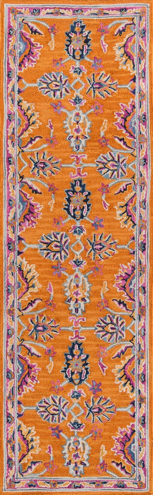 Ibiza IBI-04 ORANGE Area Rug